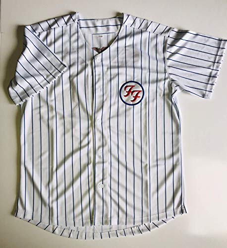 Foo Fighters jersey chicago cubs wrigley field baseball xxl 2x 2018 tour (Wrigley Field Chicago Cubs)