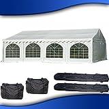 DELTA Canopies 26'x20' PVC Party Tent - Heavy Duty Wedding Canopy Gazebo Carport - with Storage Bags - By