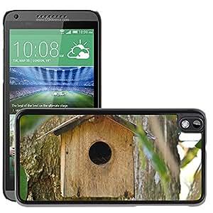 Hot Style Cell Phone PC Hard Case Cover // M00113270 Bird Nest Breeding Box Bird Shelter // HTC Desire 816