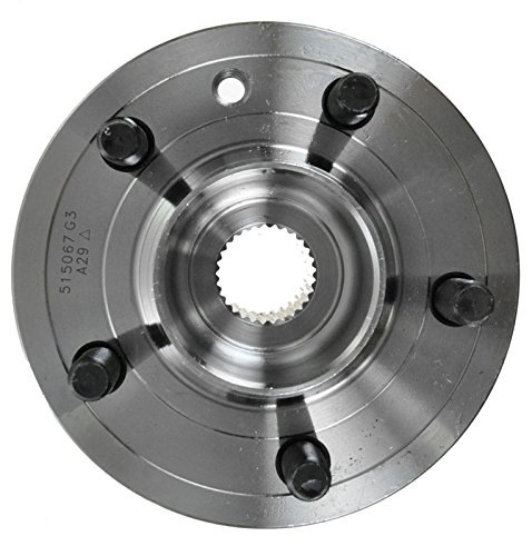 5 Lug Front Wheel Hub and Bearing Assembly Left or Right Compatible Land Rover LR3 LR4 Range Rover Sport AUQDD 515067