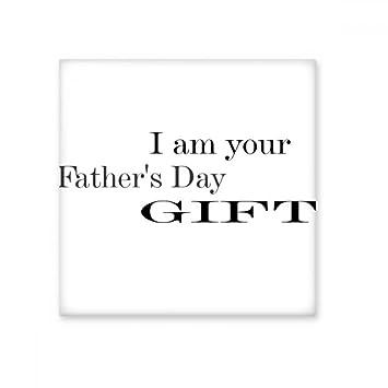 Gift Dad Father\'s Festival Quote Ceramic Bisque Tiles Bathroom Decor ...