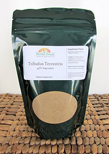 Tribulus Terrestris L Fruit Powder 1 Kilo or 2.2 Lb Bulk - Libido - 45% Saponins by Herbal Island