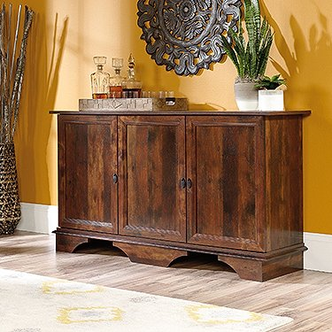 Sauder Viabella Sideboard in Curado Cherry by Sauder
