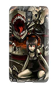 Protection Case For Galaxy Note 3 / Case Cover For Galaxy(organic Mecha)