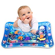 "Infinno Tummy Time Mat Baby Water Play Mat, Activity Center, Stimulate Your Baby's Growth, Baby Toys, 3 to 24 Months, 26""x20""…"