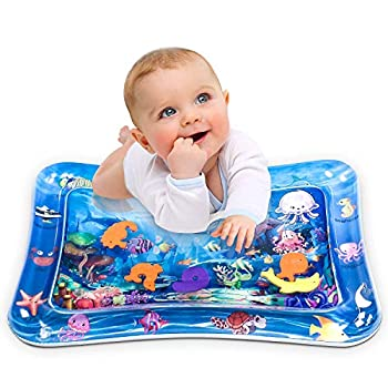 Infinno Inflatable Tummy Time Mat Premium Child Water Play Mat for Infants and Toddlers Child Toys for 3 to 24 Months, Strengthen Your Child's Muscle groups, Moveable
