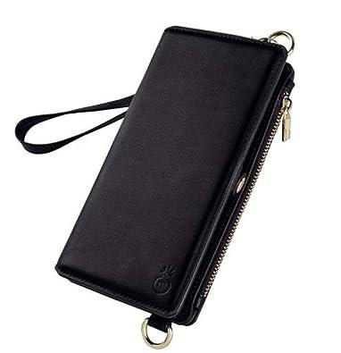0167db25a8 iPhone7plus/8plus ケース 黒 おしゃれ ミニバック風 手帳型 財布 アイフォンケース iPhoneカバー