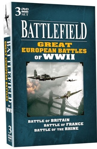 Battlefield Dvd - Battlefield: Great European Battles of WWII