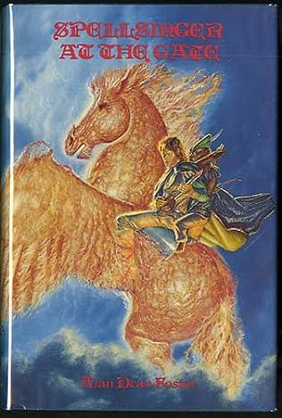 book cover of Spellsinger at the Gate