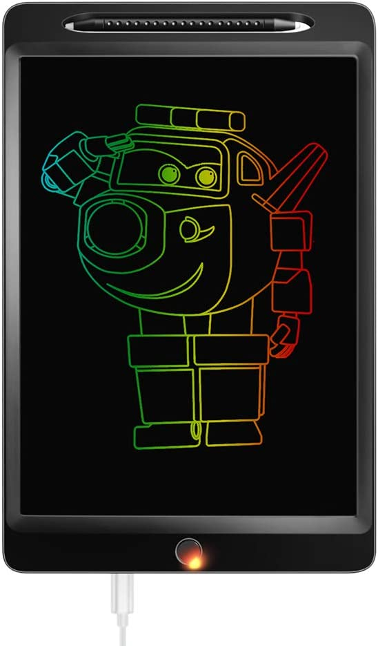 Graphic Input Board Electronic drawing board Childrens LCD Writing Board The Best Companion for Children to Learn Rechargeable Color Screen Energy-Saving Graffiti Board