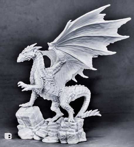 (Reaper Miniatures Kyphrixis, The Copper Dragon#77565 Bones Unpainted Plastic)