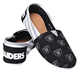Forever Collectibles 2015 NFL Womens Football Ladies Canvas Slip-On Summer Shoes - Pick Team