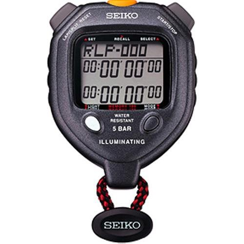 Ultrak Seiko 100 Lap Memory Timer with LED - Dual Memory Stopwatch