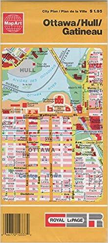 \IBOOK\ Ottawa, Hull, Gatineau (Canadian Maps). slippery nuevas horas Briar tercera