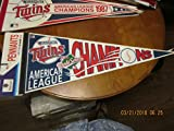 1991 Minnesota Twins World Series AL Champions pennant