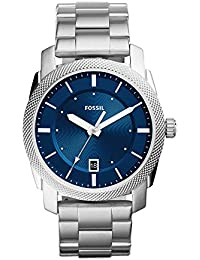 Men's 'Machine' Quartz Stainless Steel Casual Watch, Color:Silver-Toned (Model: FS5340)