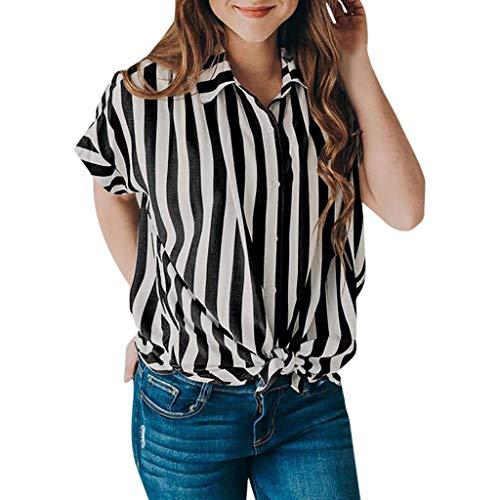 Ete Rayures Fille Mode Vetement Taille Top Vetements Cher Pas Femme Sport Printemps Roiper Blouse Chic Casual Manche Courte Grande Tee T Noir Shirt Haut Fashion EFCxqR