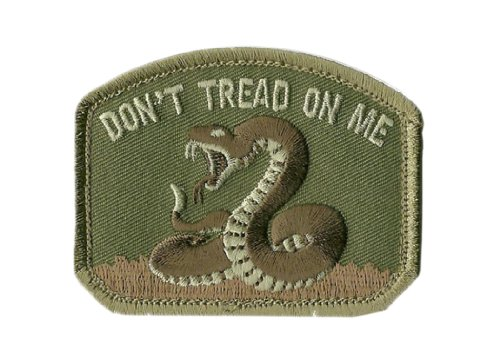 2011 Spec - Mil-Spec Monkey Don't Tread On Me Patch-Multicam