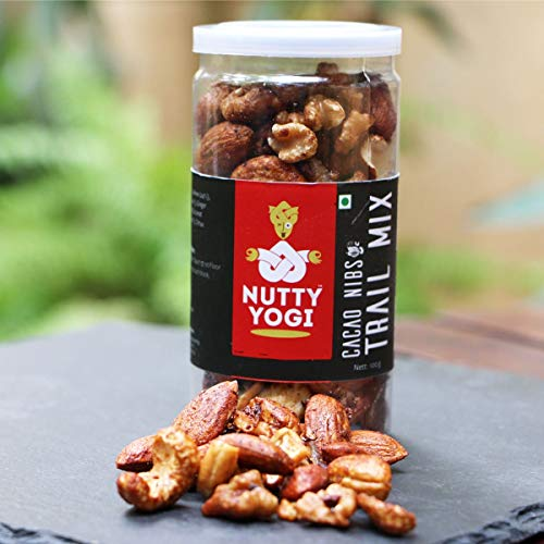 Nutty Yogi Cacao Nibs and Nuts Trail Mix 100 gm