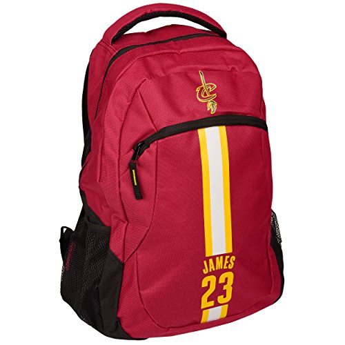 841858d605c1 FOCO Cleveland Cavaliers Lebron James  23 Action Backpack - Buy Online in  Oman.