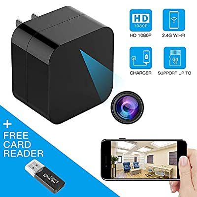 TOGUARD HD 1080P Wireless Hidden Spy Camera USB Wall Charger by corprit
