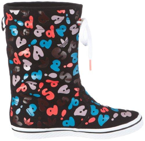 adidas Originals HONEY BOOT W G50429 Damen Sneaker Schwarz/BLACK 1 / BLACK 1 / SHARP BLUE F11