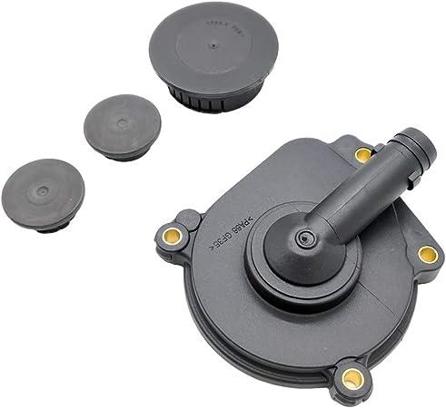 OKAY MOTOR 4pcs Crankcase Oil Separator Expansion Plugs Kit for Mercedes C300 R350 E350 S550