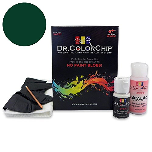 Dr. ColorChip Jaguar All Models Automobile Paint - British Racing Green 1753/HGD - Basic Kit by Dr. ColorChip
