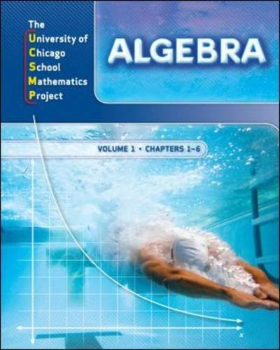 Algebra: Ucsmp Grades 6-12 (UCSMP Algebra)