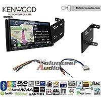 Volunteer Audio Kenwood Excelon DNX994S Double Din Radio Install Kit with GPS Navigation Apple CarPlay Android Auto Fits 2012-2014 Nissan Versa