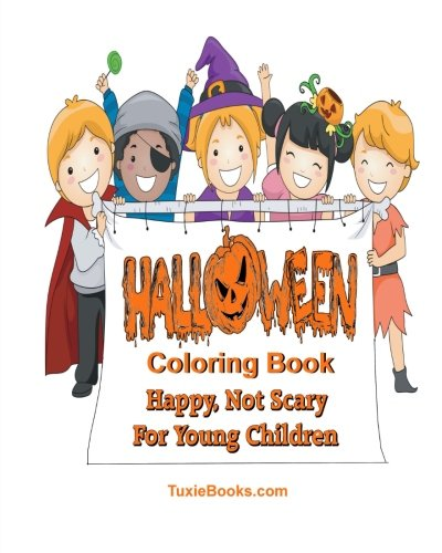 (Halloween Coloring Book for Children: Happy Not Scary For Young)