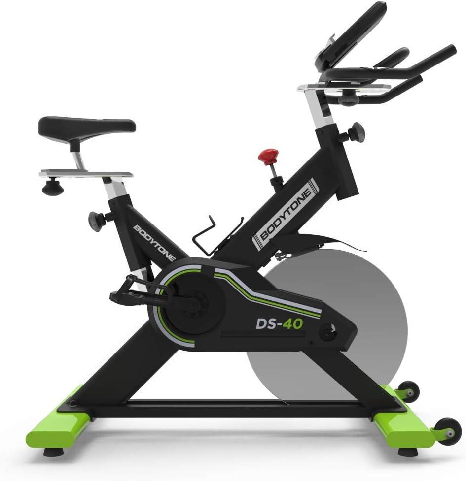 Bicicleta Estática Profesional de Ciclo Indoor para Fitness y Spinning - Regulador de Resistencia y Display Bluetooth - Con Materiales de Primera Calidad. Peso Máximo Usuario 130 KG: Amazon.es: Deportes y aire libre