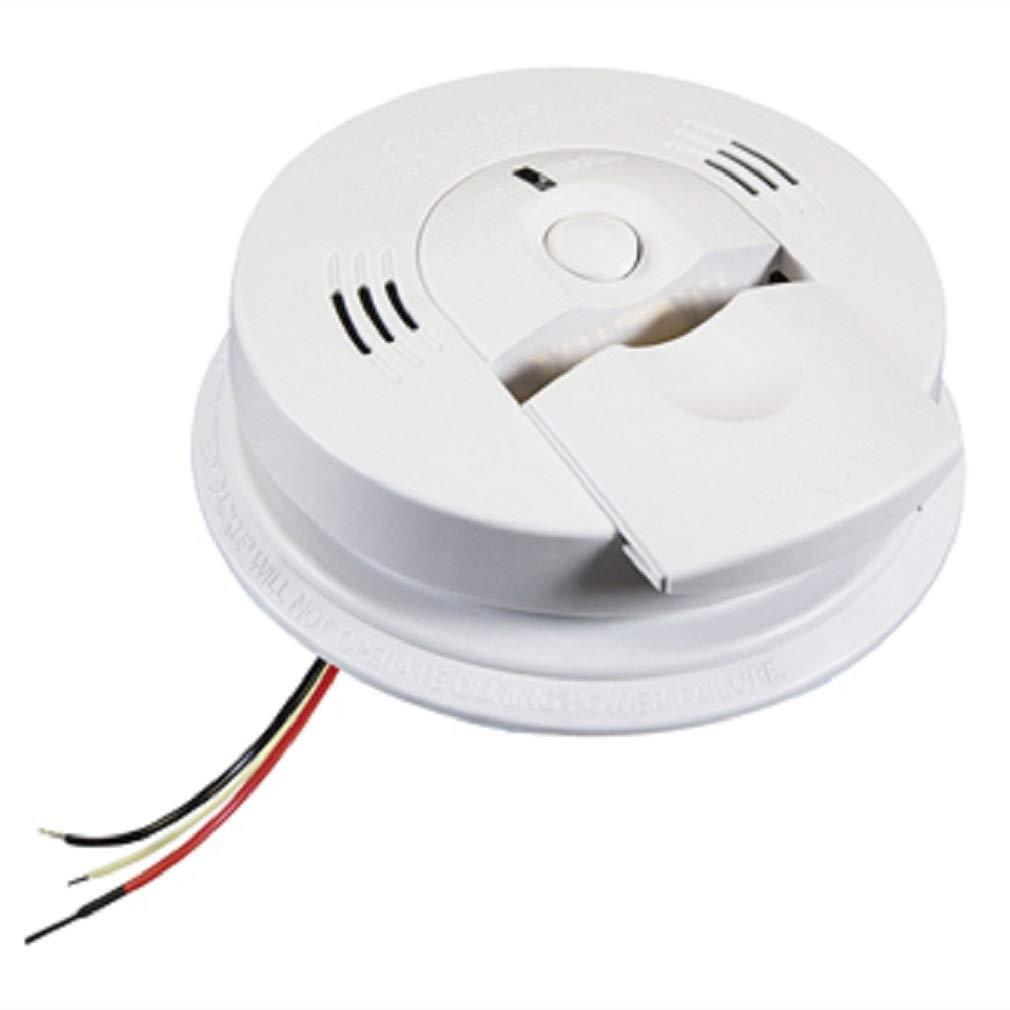 Kidde 21006377-N KN-COSM-IBA Smoke and CO Combination Alarm with 2 AA Alkaline Battery Backup 120 Volt AC by Kidde