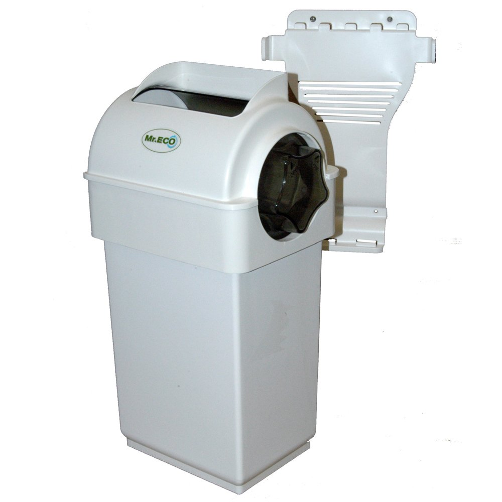Exaco Sr. ECO 2.7 galones cubierta Compost Collector witrh ...