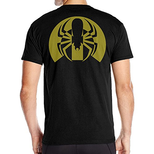 Fantastic Auto Mopar With Spider Short T Shirt Mens Back Graphic