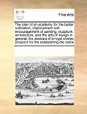 The plan of an academy for the better cultivation, improvement and encouragement of painting, sculpture, architecture, and the arts of design in general: the abstract of a royal charter propos'd for the establishing the Same, See Notes Multiple Contributors, 1171183658