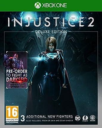 Injustice 2 XB-One UK DELUXE [Importación inglesa]: Amazon.es ...