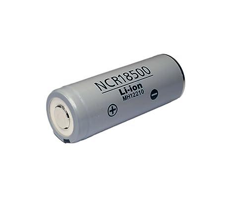 Panasonic NCR18500 3,6 V 2000 mAh Li-Ion-cell sin soldadura