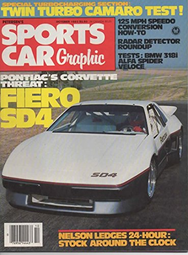 Sports Car Graphic Magazine, October 1983 (Vol 1, No 4)