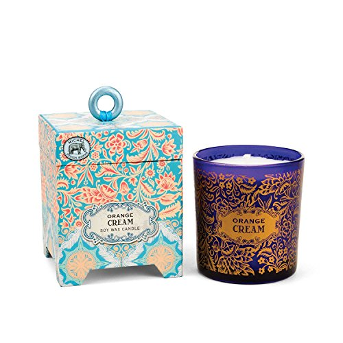 - Michel Design Works Gift Boxed Soy Wax Candle, 6.5-Ounce, Orange Cream