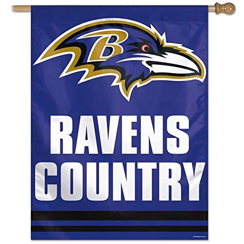 Wincraft NFL Baltimore Ravens 71952011 Vertical Flag, 27