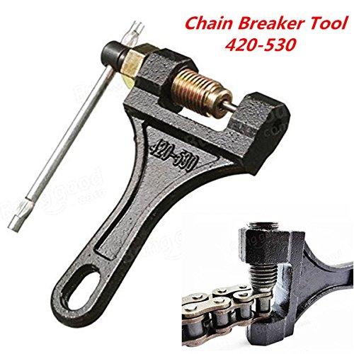 Motorcycle ATV Roller Chain Splitter Cutter Breaker Tool 420 428 520 525 528 530 (Tool Roller Chain)