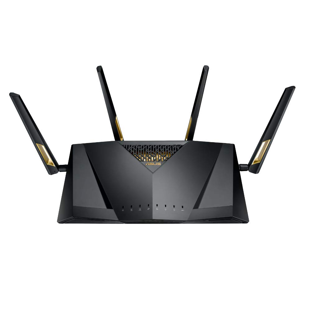 ASUS RT-AX88U AX6000 Dual Band Gigabit Wi-Fi Router (Black) product image