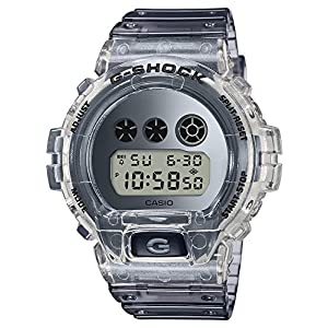 51N6krmu9qL. SS300  - Casio G-SHOCK DW-6900SK-1JF Clear Skeleton Special Color Shock Resistant Watch (Japan Domestic Genuine Products)