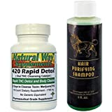 420 Rapid Detox THC Remover 2 Day Body Marijuana Cleanse & Magnum Detox Hair Purifying Shampoo