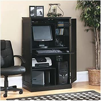 Sauder Computer Armoire, Multiple Finishes