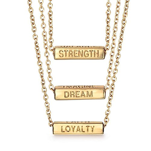 - Avon Essential Truths Necklace - Gold - One Size