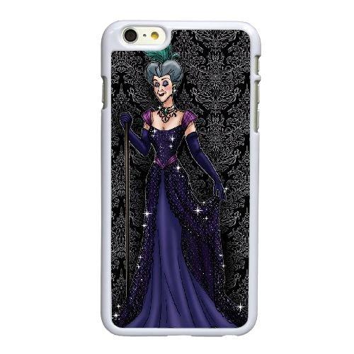 P2Q88 Disney Cendrillon Caractère Lady Tremaine B2L5TY coque iPhone 6 Plus de 5,5 pouces cas de couverture de téléphone portable coque blanche IK1DLK7JH