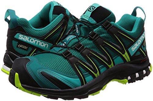 lime Green Gtx Salomon Pro 3d Xa deep Women''s Trail black Running Lake Teal Shoes 77xIOBwA
