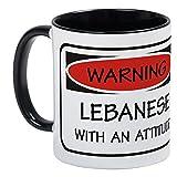 CafePress - Attitude Lebanese - Unique Coffee Mug, Coffee Cup